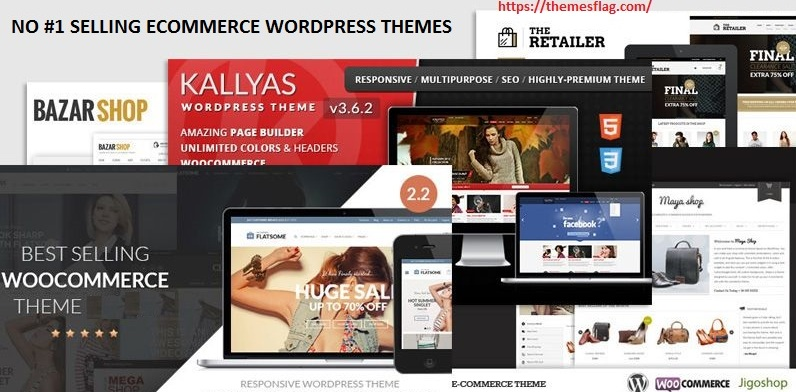 Best ecommerce themes in wordpress no#1 selling