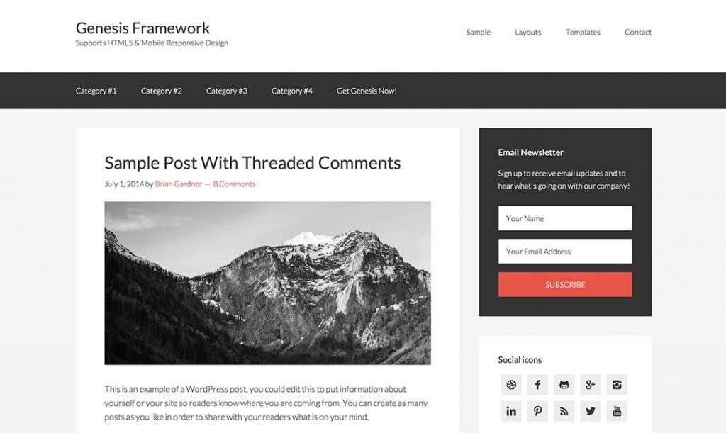 genesis framework best premium wordpress themes for blogs