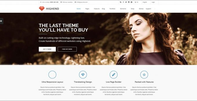 Highend best premium wordpress themes for blogs