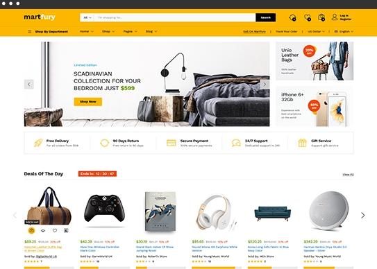 Matfury amazon style best ecommerce themes in WordPress