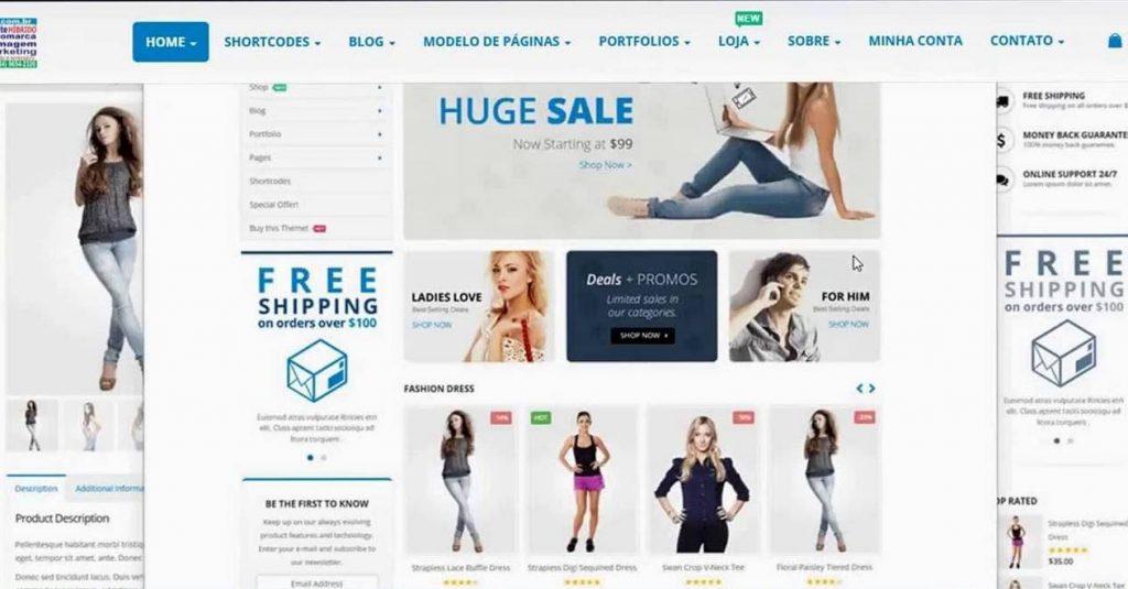 Porto - eCommerce theme in WordPress