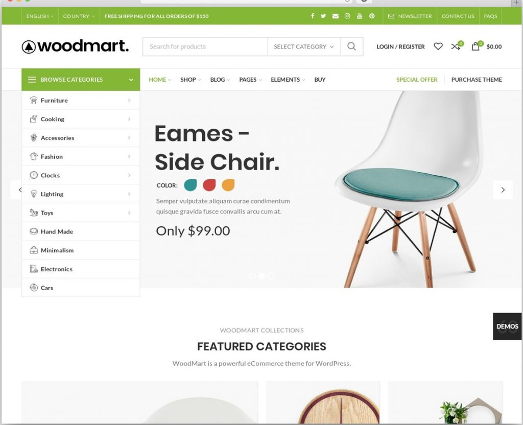 woodmart one of the best ecommerce themes in wordpress
